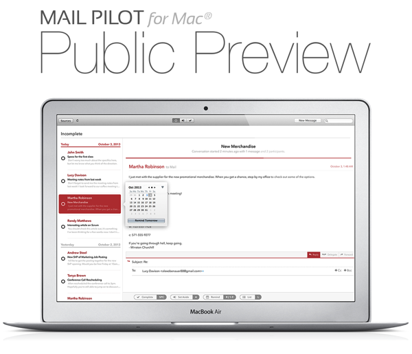 Email on your Mac – a brief history. And don't miss the launch of MailPilot today!