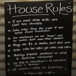 House Rules – Byron Style