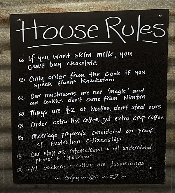 House rules2