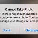 Don't miss that photo! Solving iPhone storage woes