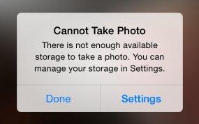Low storage