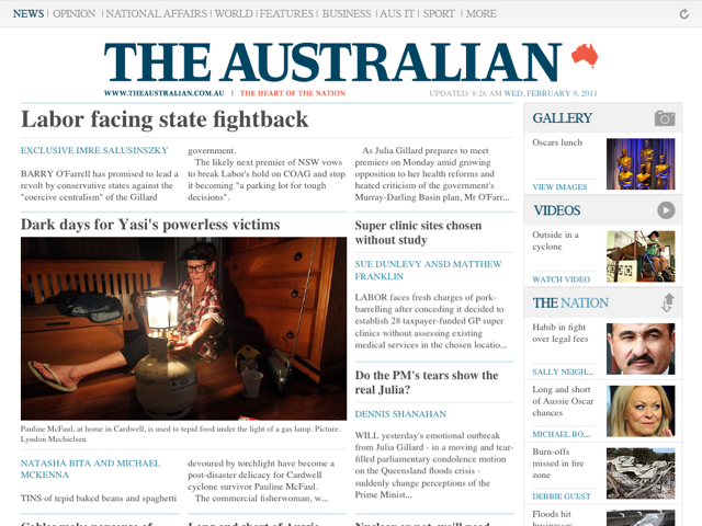 AppSpin: The Daily and The Australian